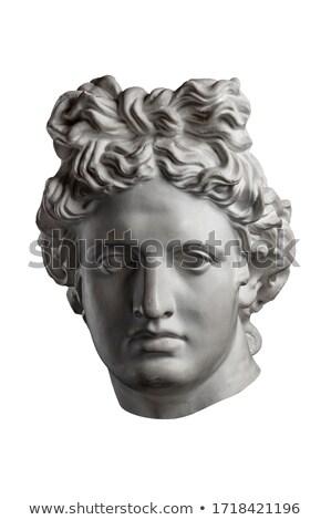 Stok fotoğraf: Statue Of Apollo Athens Greece