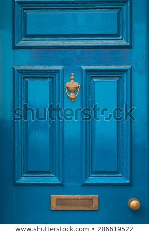 Zdjęcia stock: Starych · domu · drzwi · widoku · ściany · projektu