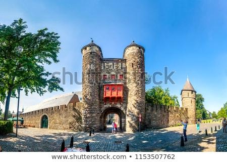 Niederlande Hölle Tor Stadt Land Name Stock foto © borisb17