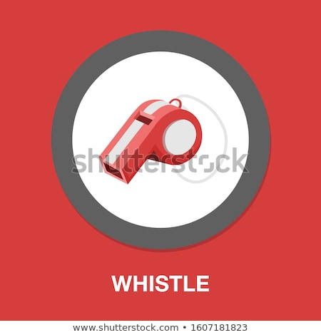 Warning Symbol, Sound Equipment, Whistle Vector Stock photo © robuart