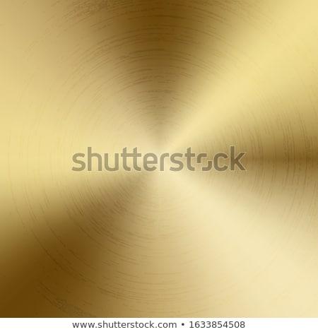 Polido textura dourado metal vetor Foto stock © Iaroslava
