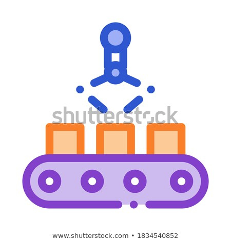 Manufacturing Product Selection Metallurgical Icon Vector Illustration Stock photo © pikepicture