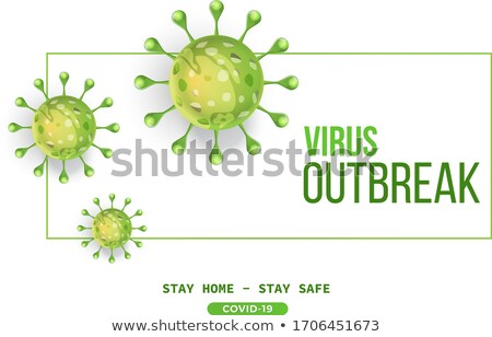 covid19 novel coronavirus pandemic outbreak background in red shade Stock photo © SArts