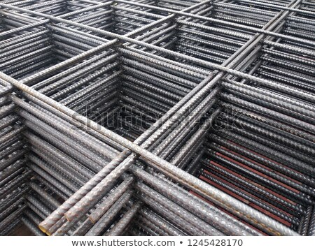 Stock photo: A Pile Of Welded Wire Mesh
