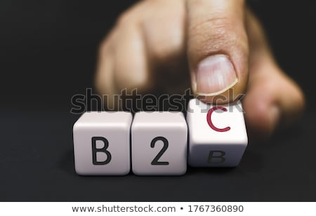 B2B Changes to B2C - Business Priorities Concept. Stock photo © tashatuvango