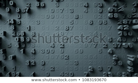 background with numbers stock photo © orson