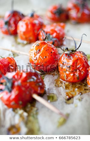 roasted cherry tomato skewers Stock photo © zkruger