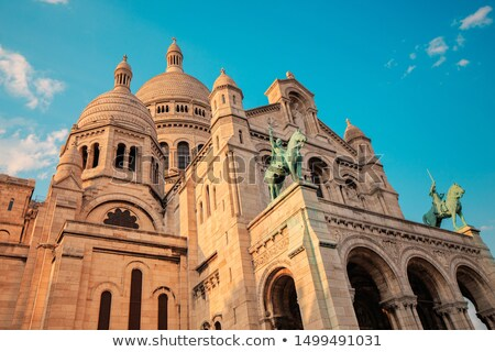 basilique · sacré · coeur · église · bleu · urbaine - photo stock © musat