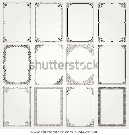 Four Vintage Frames Stock photo © 3mc