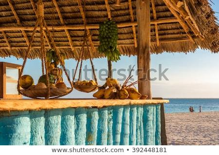 ココナッツ ココナッツ フルーツ 夏 オレンジ ストックフォト © gant