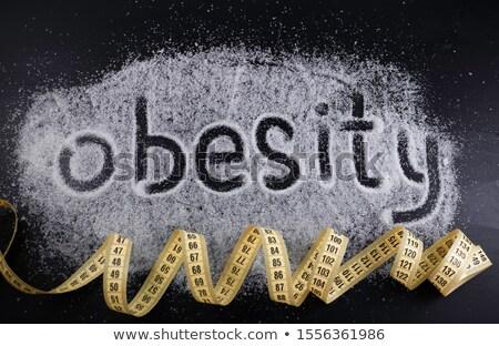 Fatal obesity Stock photo © leeser