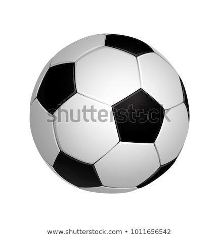 Vector balón de fútbol clipart diseno fútbol pelota Foto stock © freesoulproduction
