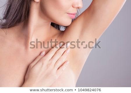 Hónalj női borotva nő meztelen szexi Stock fotó © ssuaphoto