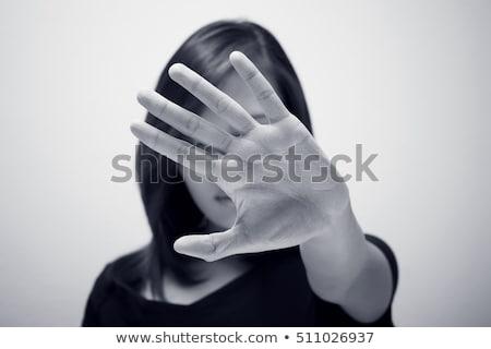 fora · escrita · proativa · lousa · negócio · branco - foto stock © bbbar