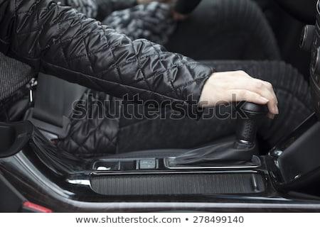 Automatique engins niveau voiture Voyage noir Photo stock © mtoome