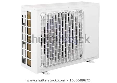 Air condition condenser unit to supply the home house or office Stock photo © ozaiachin