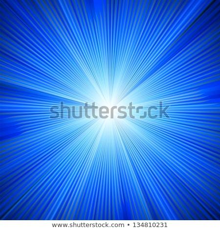 青 · 色 · バースト · 自然 · 背景 · 日の出 - ストックフォト © beholdereye