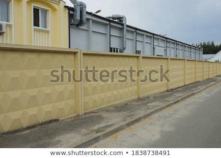 Paredes ilustração preto isolado branco parede Foto stock © iliuta19