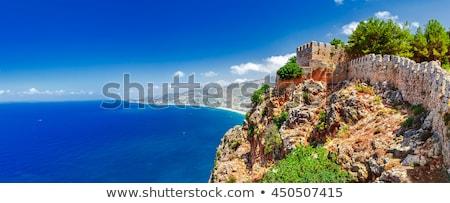 fortress wall in Alanya Turkey  Stock photo © csakisti