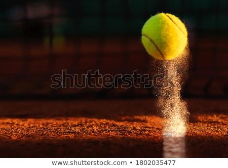 közelkép · labda · kép · nő · tart · futball - stock fotó © pongam