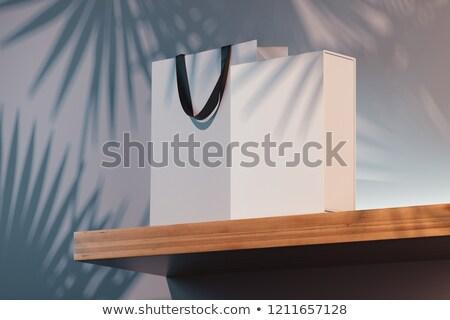 milieu · behoud · boodschappentas · plant · winkelen - stockfoto © devon
