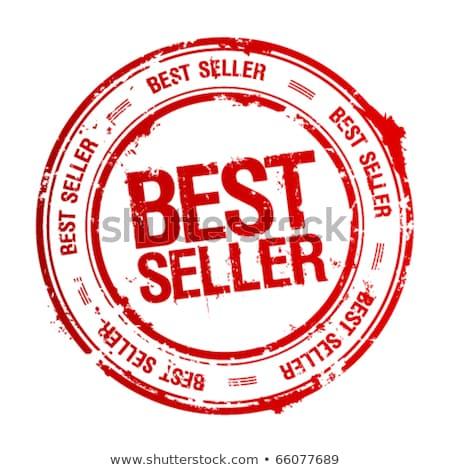 Legjobb eladó pecsét eredeti papír nyomtatott Stock fotó © IMaster