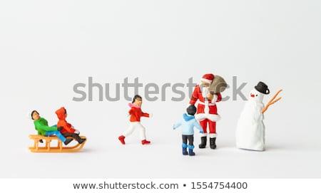 kardan · adam · kukla · örnek · oyuncak · komik · göstermek - stok fotoğraf © ivonnewierink