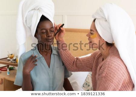 красоту портрет красивой брюнетка женщину ежедневно Сток-фото © dash