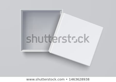 red package box isolated on white  stock photo © inxti