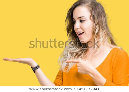 Delightful young blond woman Stock photo © acidgrey