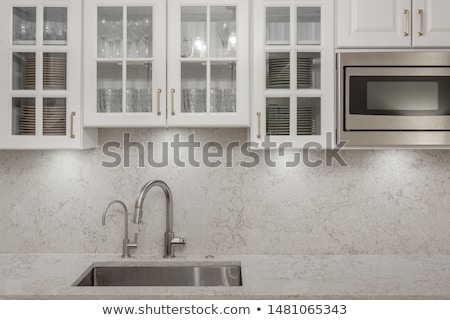 Granite, glass and steel Stock photo © SophieJames