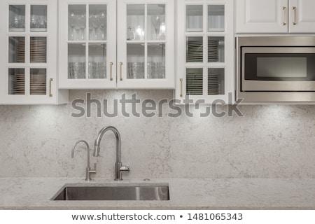 Granite, glass and steel Stock photo © SophieJames