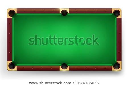 köşe · bilardo · masası · cep · havuz · punk · oynamak - stok fotoğraf © alphababy