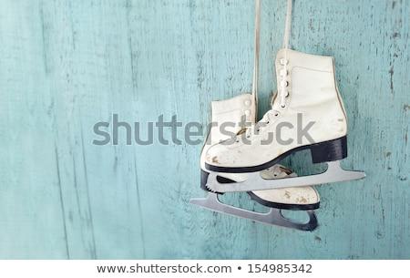 old ice skates Stock photo © Marcogovel
