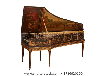 Harpsichord Stock photo © AlienCat