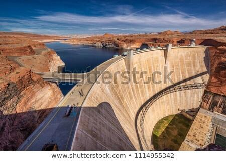 Meer canyon Arizona Blauw oranje natuur Stockfoto © billperry