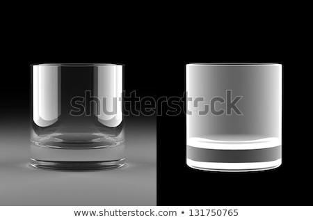 ウイスキー ガラス アルファ マスク 一緒に パーフェクト ストックフォト © creisinger