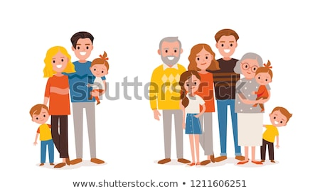 entire family stock photo © cteconsulting