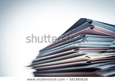 личные · организатор · бумаги · пер · календаря - Сток-фото © timbrk