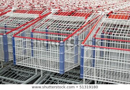 アメリカン · ショッピング · 一緒に - ストックフォト © shanemaritch