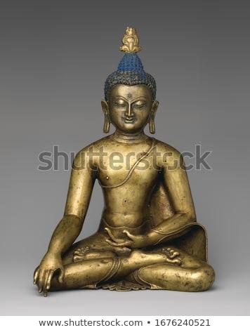 Sitting Buddha sculpture Stock photo © bbbar