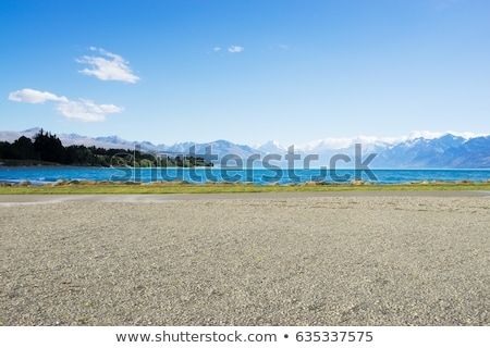 Dirt road to beach. Stock photo © iofoto