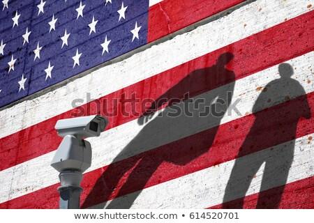 ABD casus bayrak dizayn ikili Stok fotoğraf © creisinger