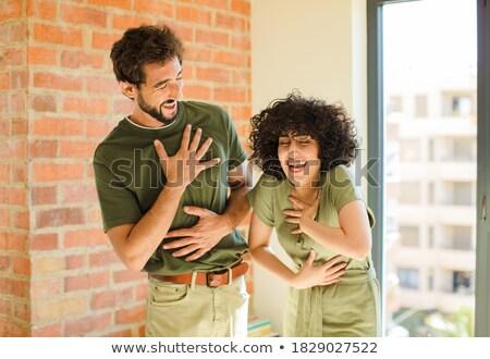 Egípcio casal ilustração mulher homem Foto stock © MasaMima