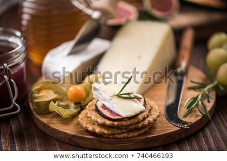 üzüm beyaz ahşap bıçak tahta Stok fotoğraf © stevemc
