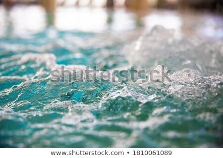 Bain plein mousse prêt eau Photo stock © nito