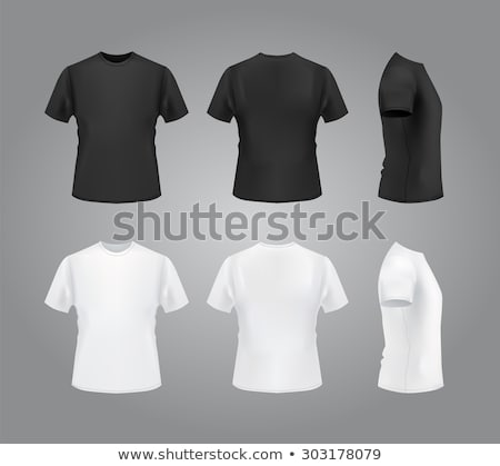 man in blank t shirt stock photo © dolgachov