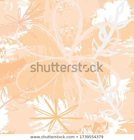 抽象的な ベクトル フローラル デザイン ソフト 緑 ストックフォト © CarpathianPrince