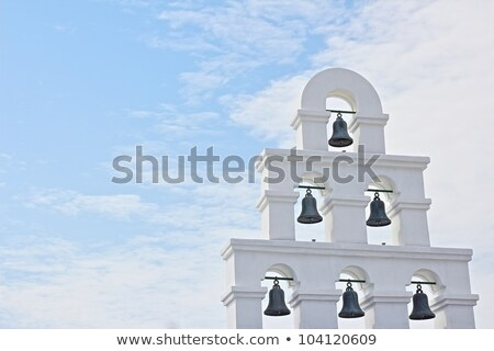 Greek church bell tower Stock photo © Anterovium