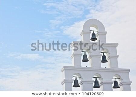 типичный · греческий · Церкви · каменные · Греция · небе - Сток-фото © anterovium